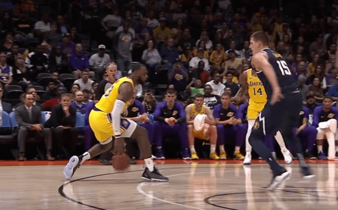 LeBron James Los Angeles Lakers preseason