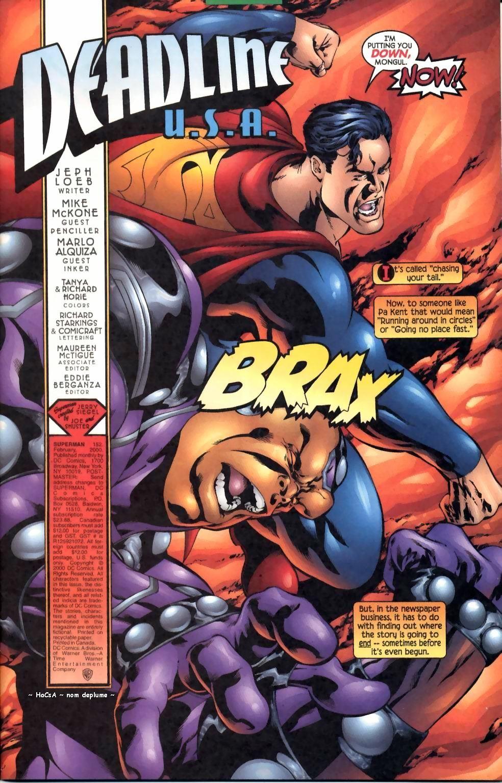 Superman punch comics