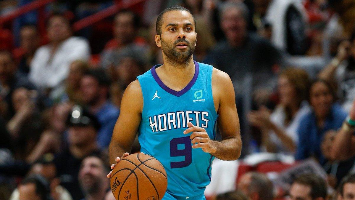 Tony Parker Hornets Heat