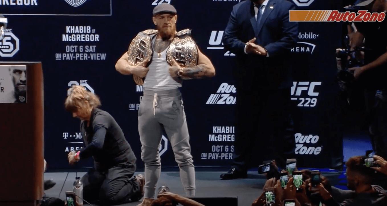 Conor McGregor fait face à une seconde accusation d'agression sexuelle — UFC