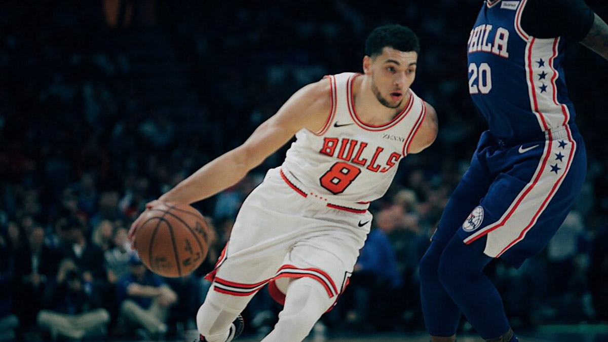 Zach LaVine Chicago Bulls