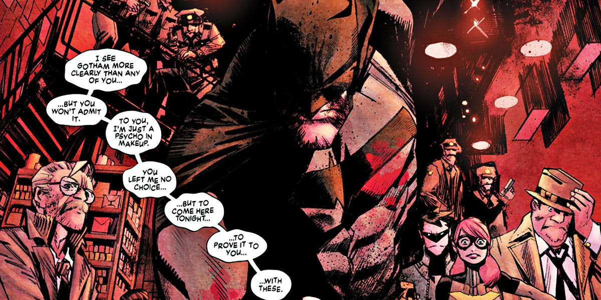 Batman White Knight Header