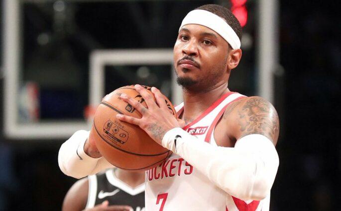Carmelo Anthony Houston Rockets