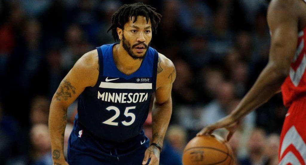 Derrick Rose Wolves