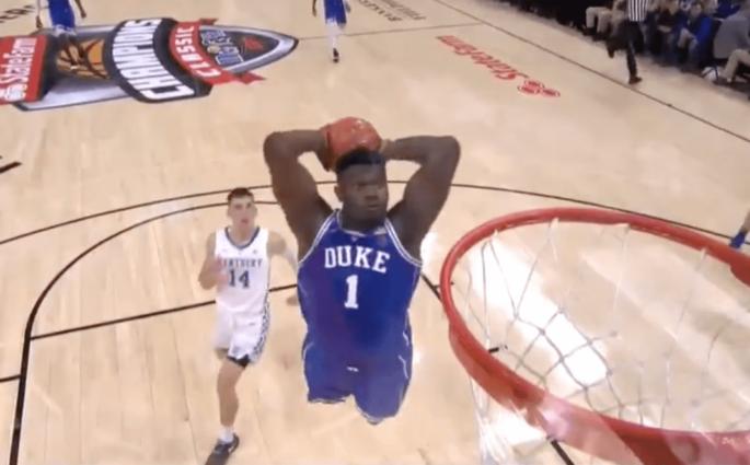 Duke Kentucky Zion Williamson Barrett