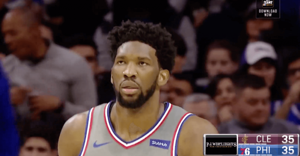 Embiid Philly Cavs