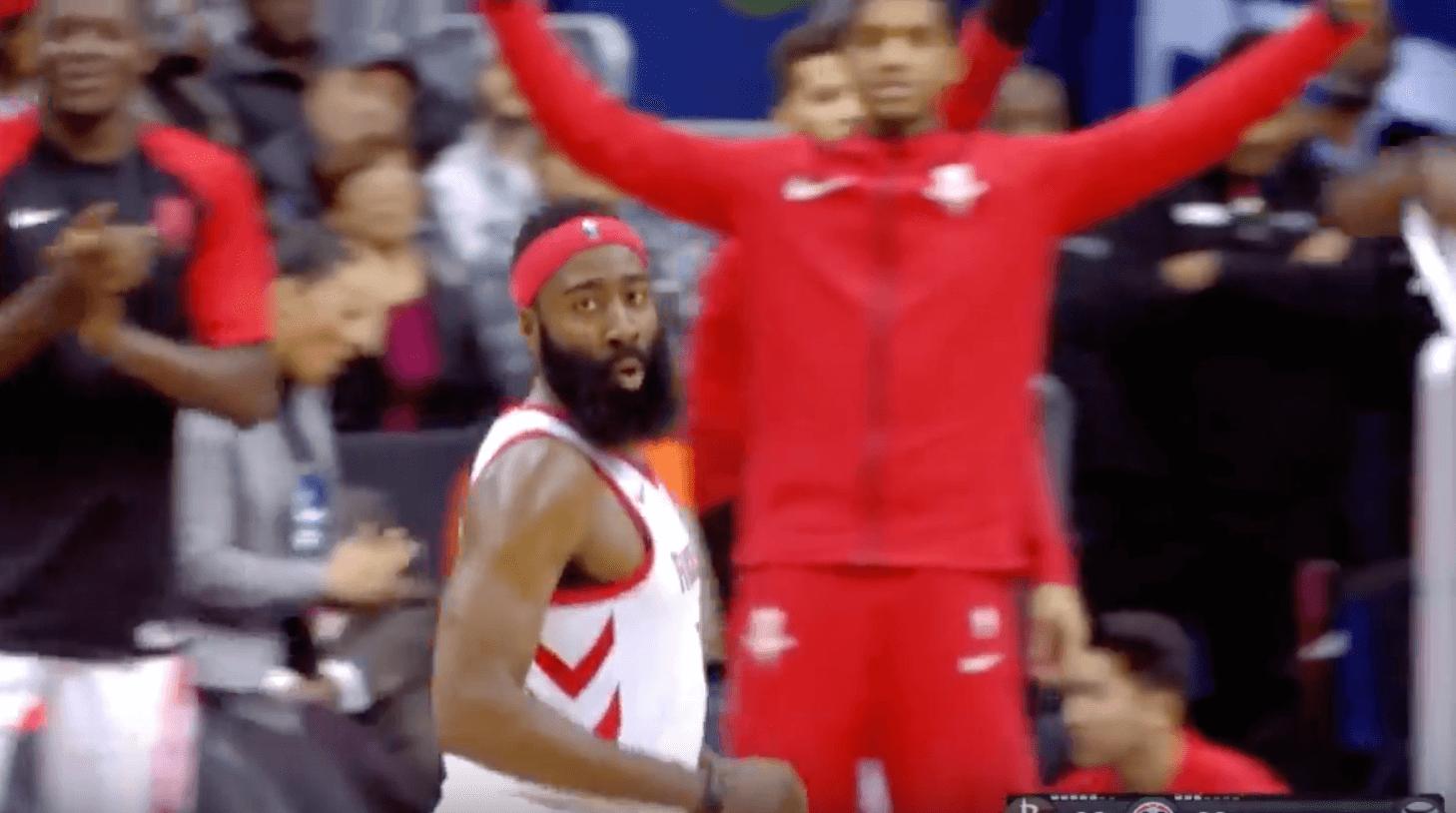 James Harden Houston Rockets Wizards