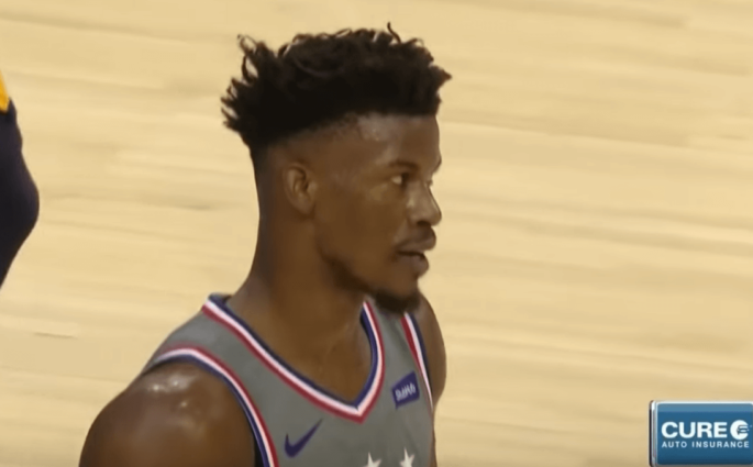 Jimmy Butler Sixers Jazz