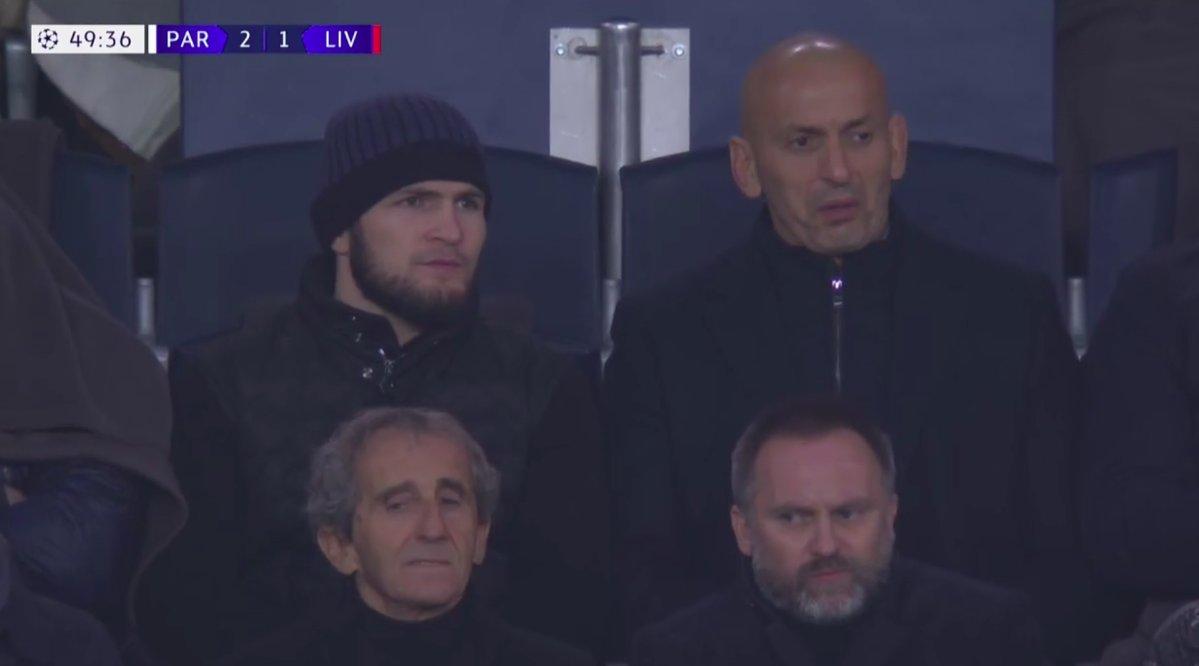 Khabib Nurmagomedov PSG Paris St Germain