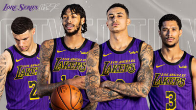 NBA City Edition Los Angeles Lakers