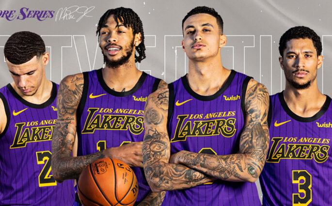 NBA City Edition Los Angeles Lakers