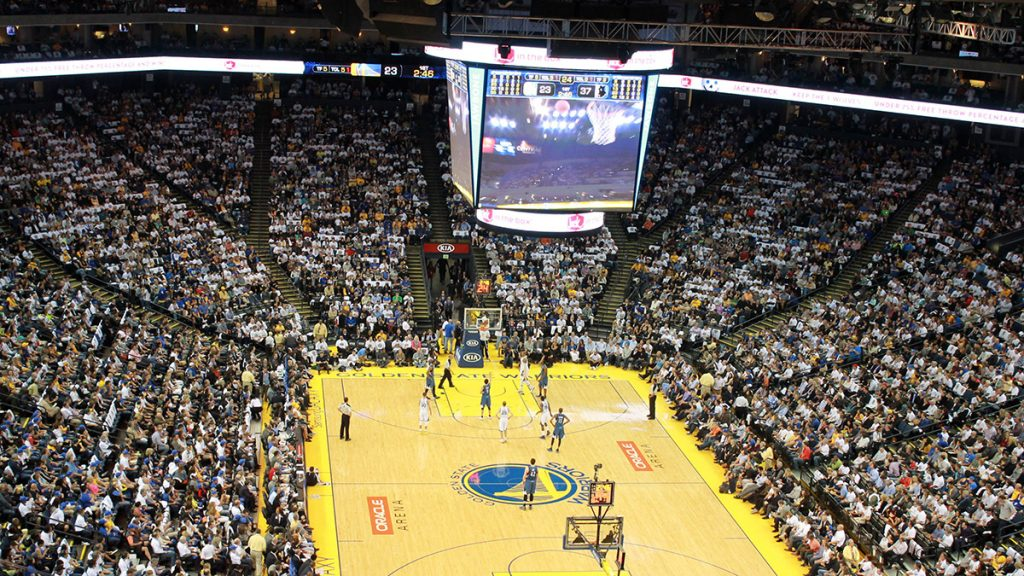 Oracle Arena Golden State Warriors