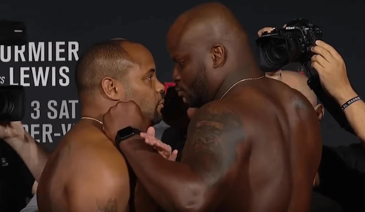 UFC 230 Daniel Cormier vs. Derrick Lewis