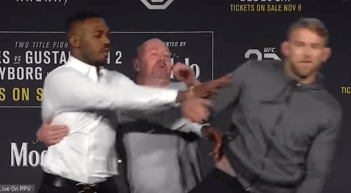 UFC 232 Jon Jones vs. Alexander Gustafsson Press Conference