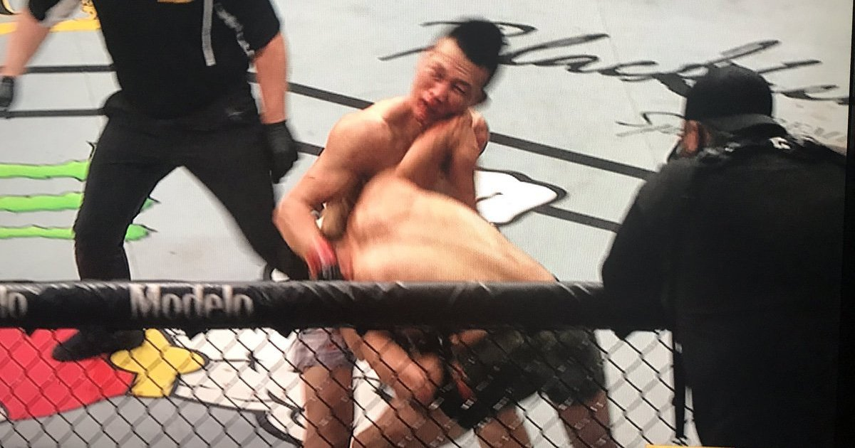 Yair Rodriguez Korean Zombie