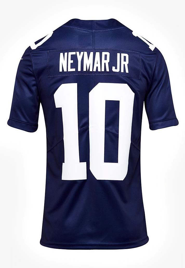 Les nouveaux maillots NFL pour le PSG et le Barça