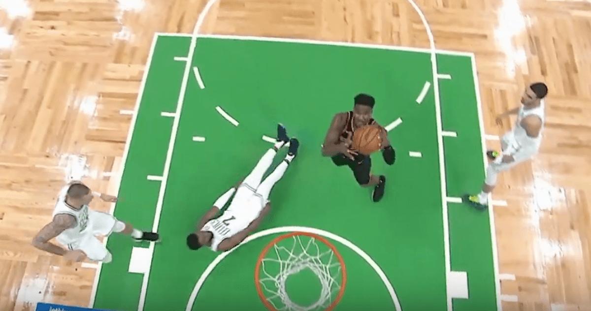 DeAndre Ayton Suns Celtics TD Garden