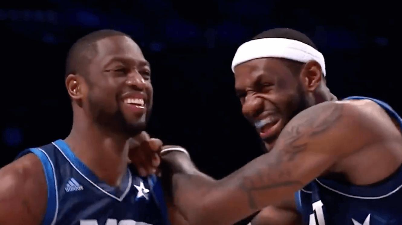 Dwyane Wade LeBron James Lakers Heat