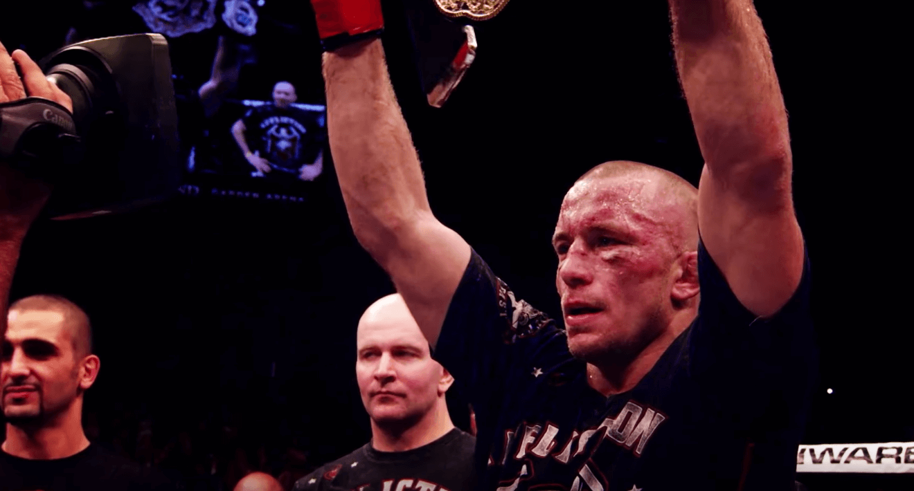 Georges St Pierre Depression Hendricks