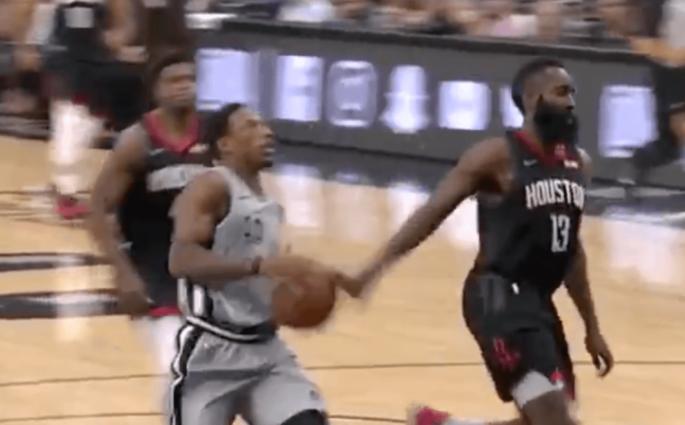 Houston Rockets San Antonio Spurs Harden DeRozan