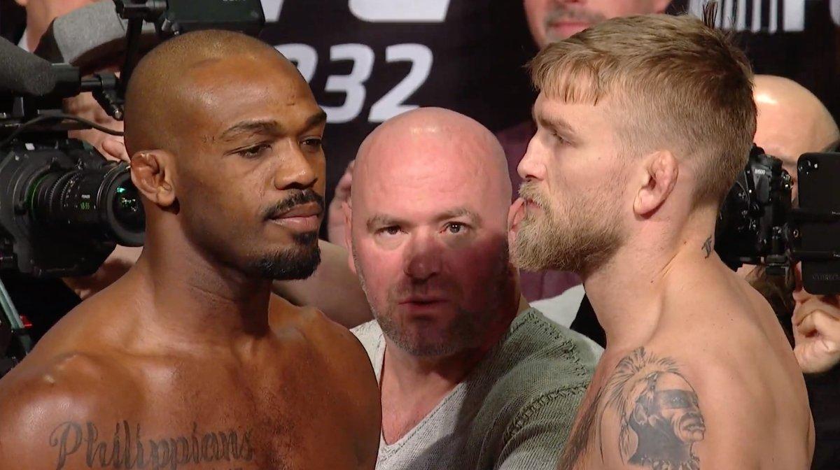 Jon Jones Alexander Gustafsson UFC 232