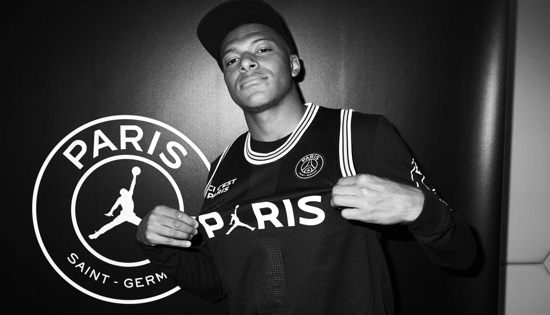 Jordan PSG Mbappe