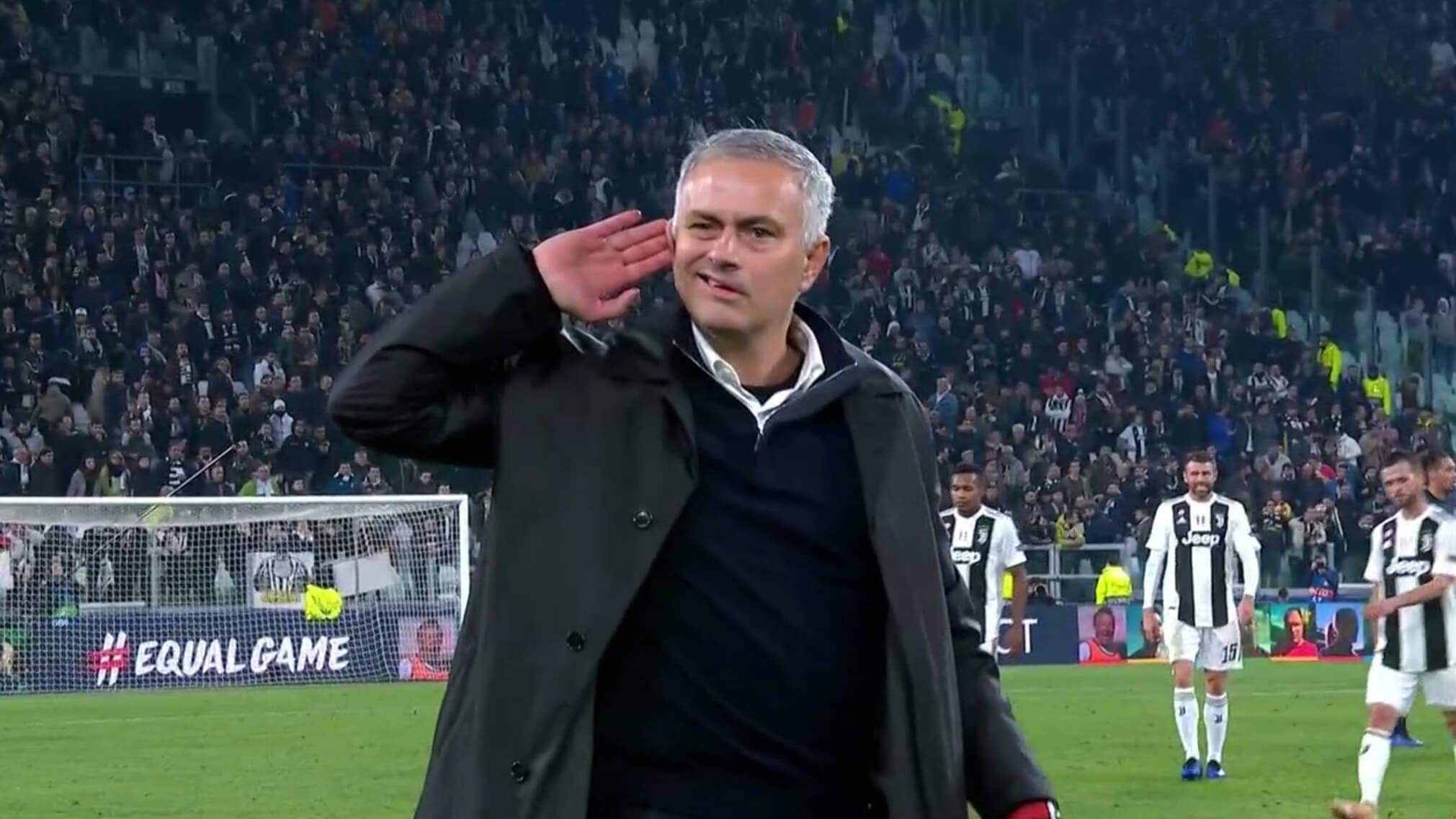 Jose Mourinho Manchester United Juventus