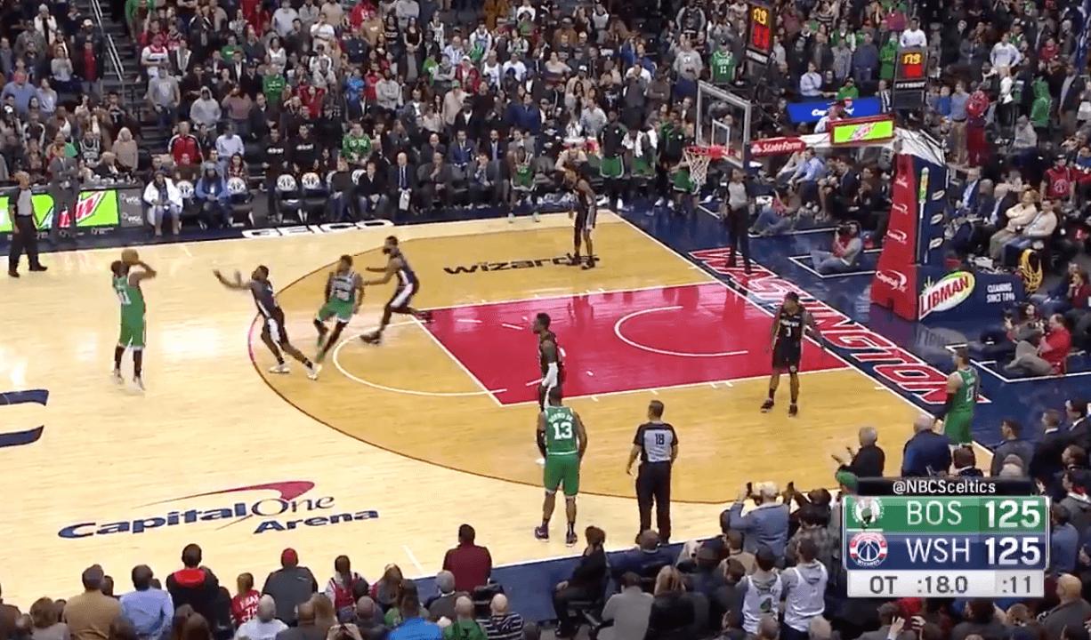 Kyrie Irving Boston Celtics Wizards