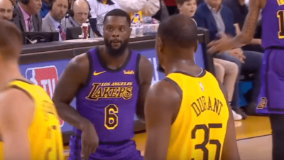 LeBron James Warriors Lakers Lance Stephenson