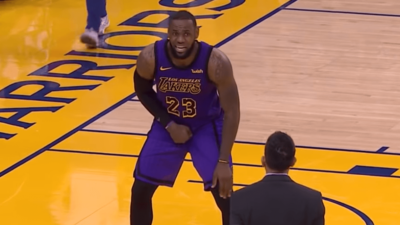 LeBron James injury groin