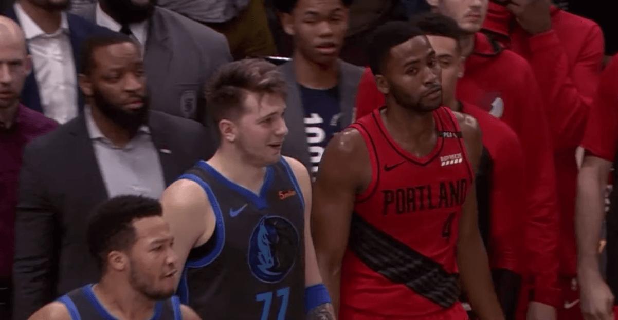 Luka Doncic NBA Blazers