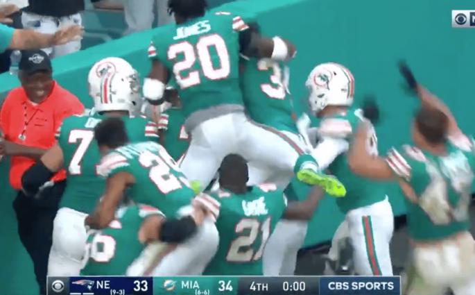 Miami Dolphins New England Patriots