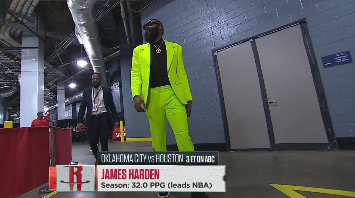 NBA James Harden OKC