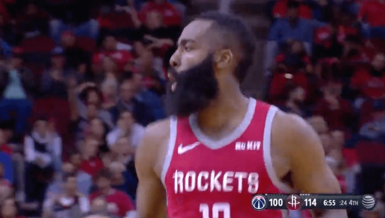 NBA Rockets Wizards