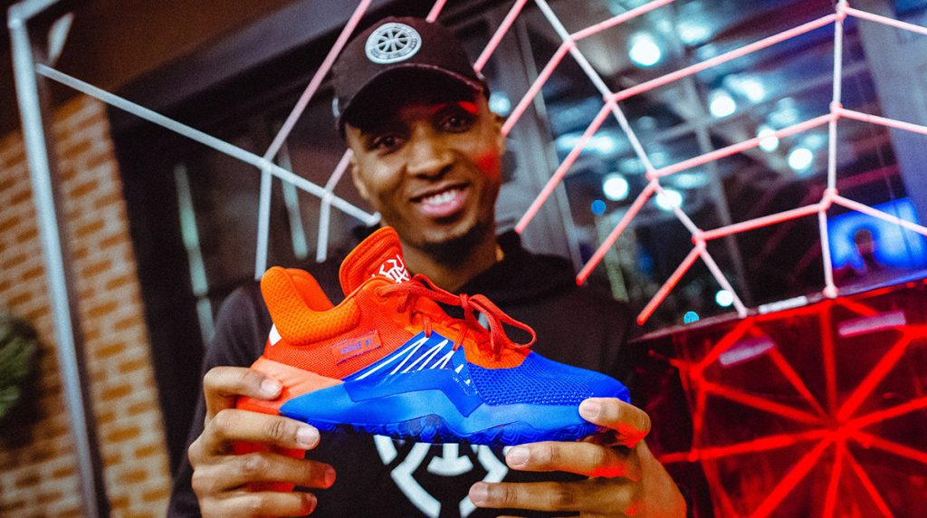 THE D.O.N. ISSUE Donovan Mitchell Adidas