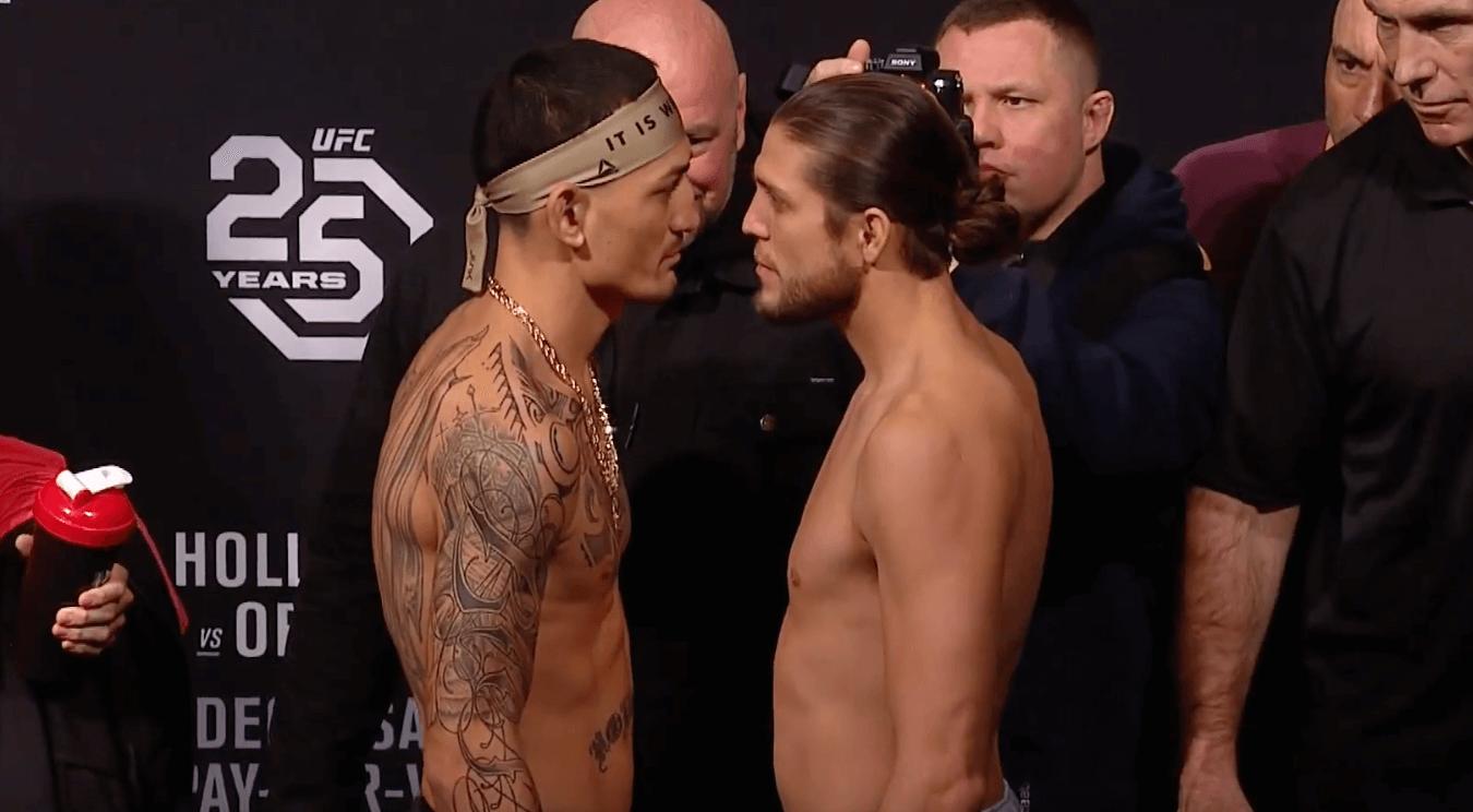 UFC 231 Max Holloway Brian Ortega