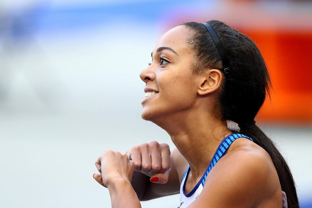 Katarina Johnson-Thompson, une championne du monde à Montpellier