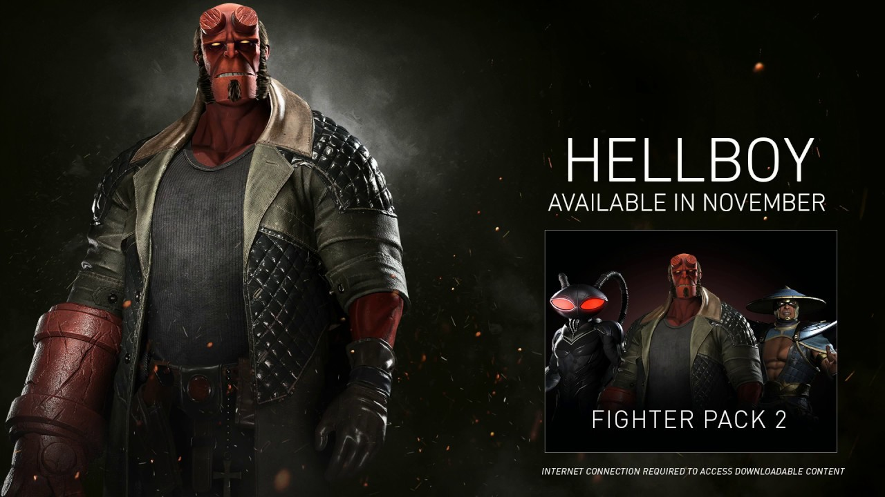 Hellboy Injustice