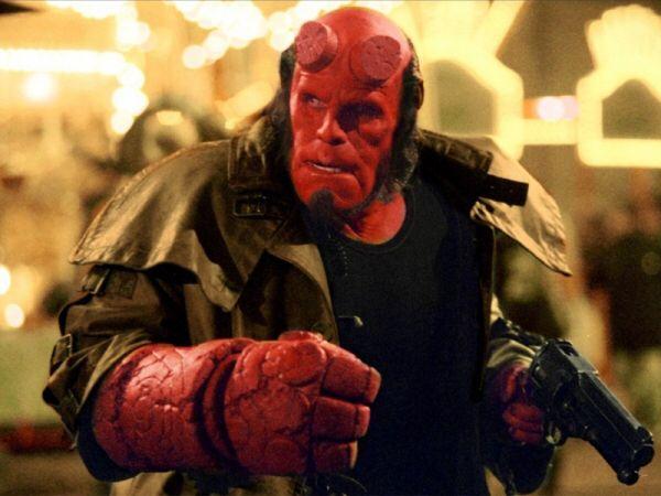 Hellboy arm