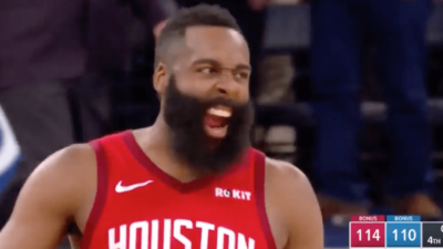 James Harden Rockets Knicks