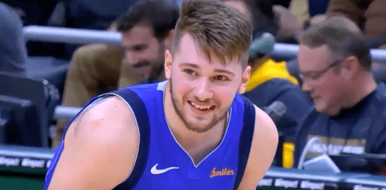 Luka Doncic smile
