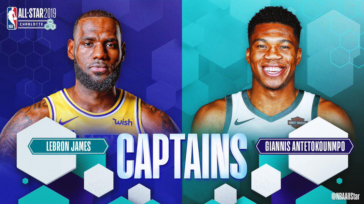 All-Star Game 2019 - les titulaires et les deux capitaines annoncés !