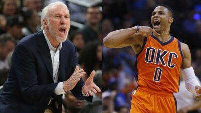 Russell Westbrook Gregg Popovich