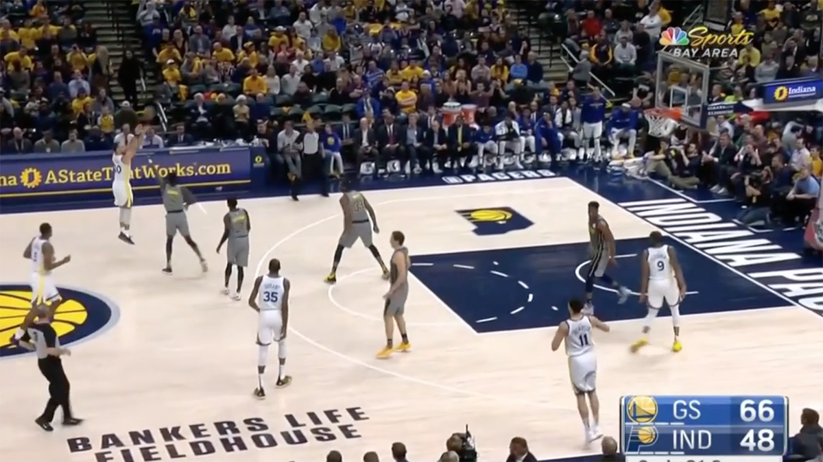 Stephen Curry Indiana Pacers