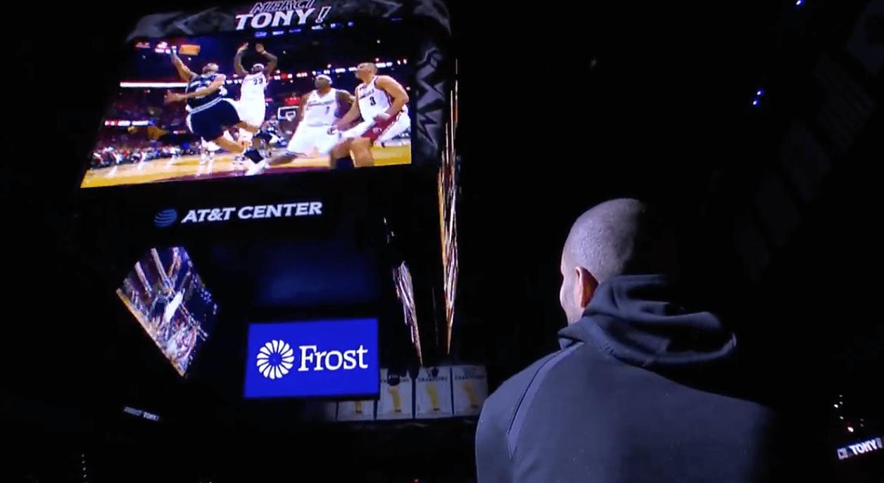 Tony Parker Spurs Charlotte Hornets