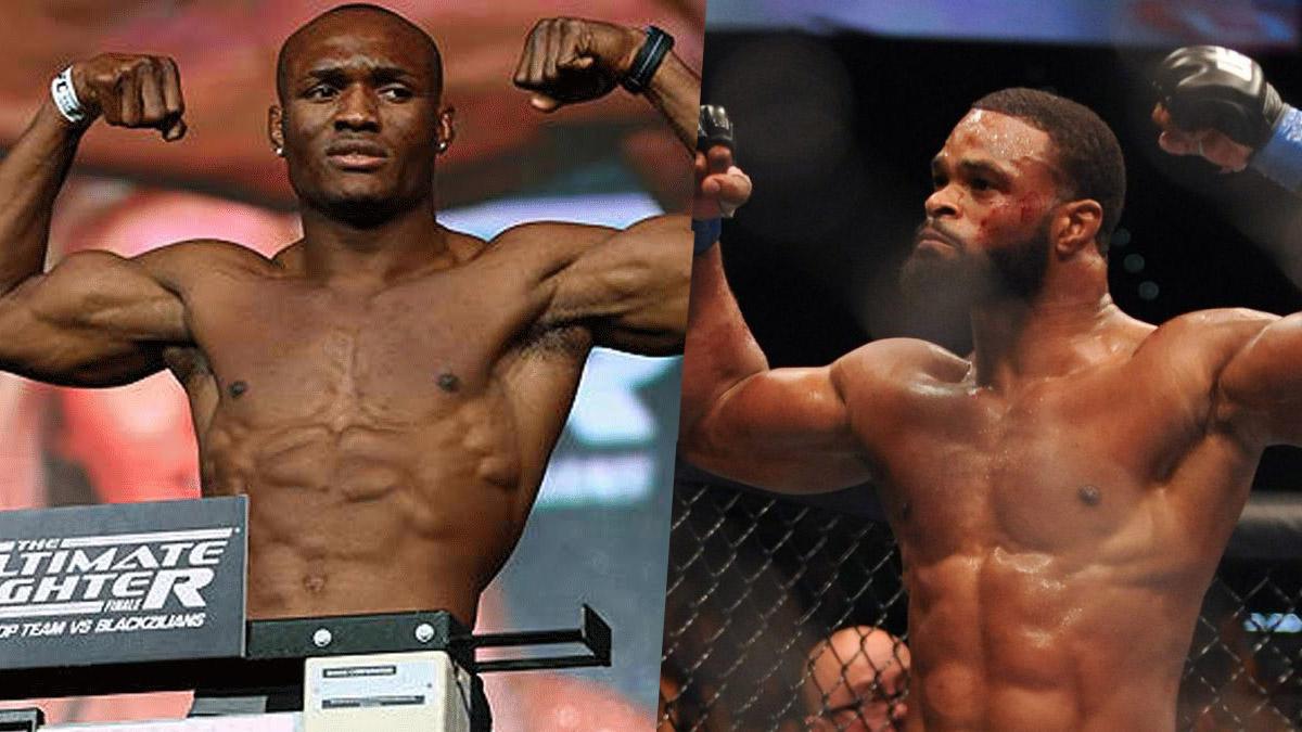 Tyron Woodley Kamaru Usman UFC 235