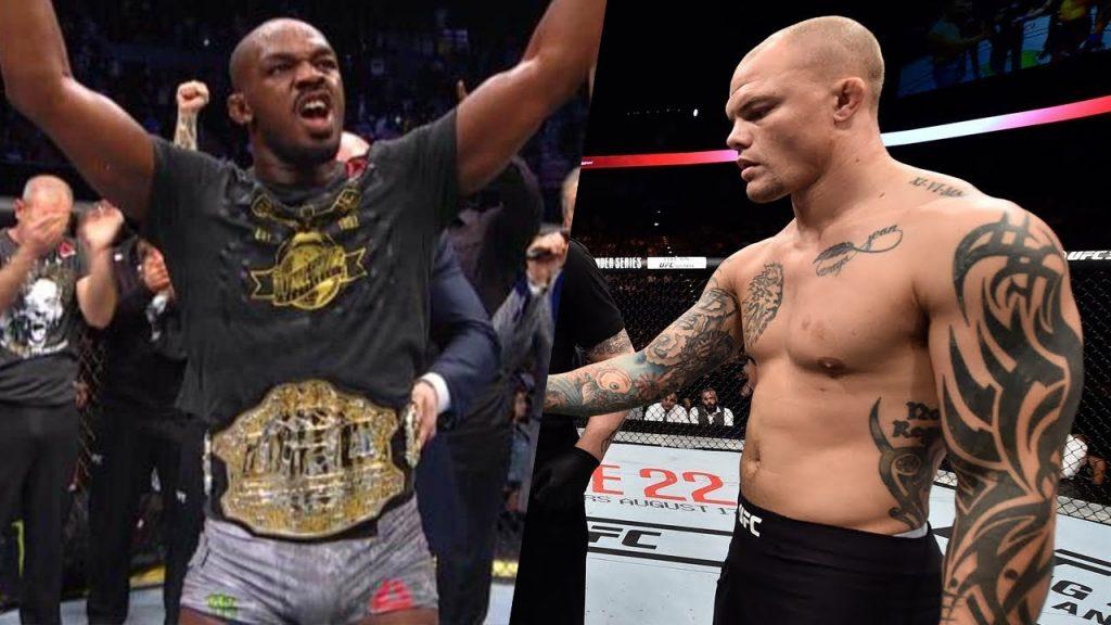 UFC 235 Jon Jones Anthony Smith