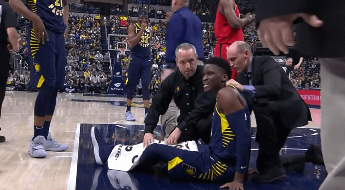 Victor Oladipo injury