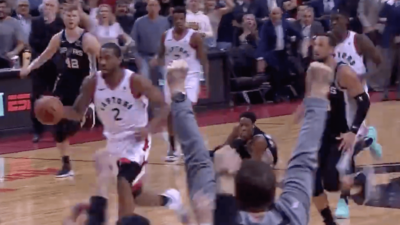 DeRozan Leonard game winner Toronto