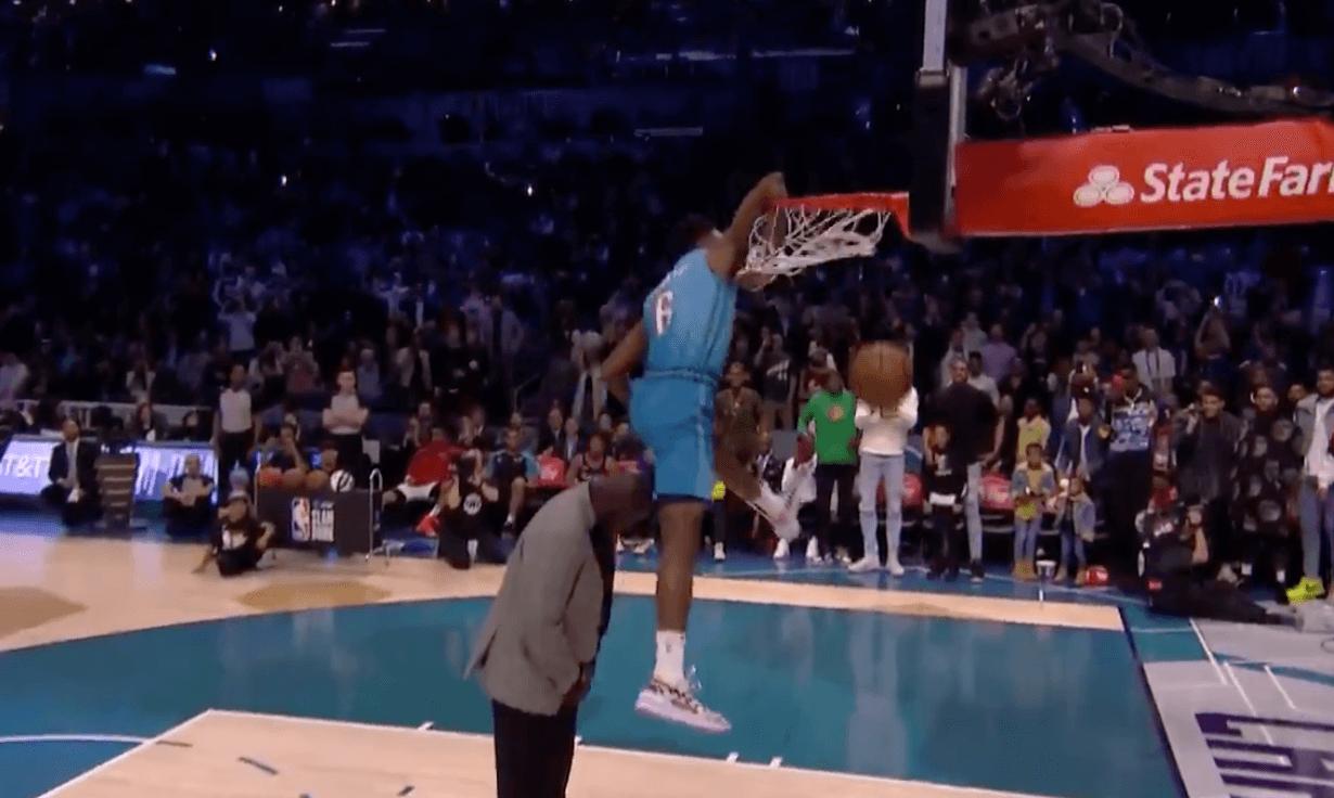 Diallo crée la surprise au concours de dunks — NBA